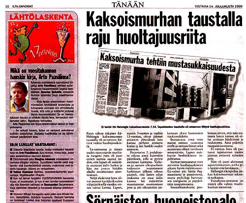 huoltajuuskiista isän oikeudet Kuusamo